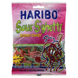 Haribo Sour S'ghetti Gummi Candy, 5 Oz (Pack of 12)