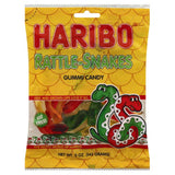 Haribo Rattle-Snakes Gummi Candy, 5 Oz (Pack of 12)