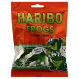 Haribo Frogs Gummi Candy, 5 Oz (Pack of 12)