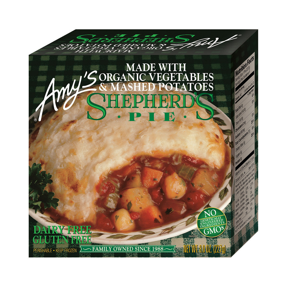 Amy's Kitchen Shepherd's Pie, 8 Oz (Pack of 12)
