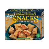 Amy's Kitchen Cheese Pizza Snacks, 6 Oz (Pack of 12)