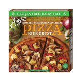 Amy's Kitchen Single Serve Rice Crust Roasted Vegetable Pizza, 6 Oz (Pack of 12)