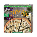 Amy's Kitchen Rice Crust Spinach Cheese Pizza, 14.6 Oz (Pack of 08)