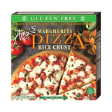 Amy's Kitchen Single Serve Rice Crust Margherita Pizza, 6.4 Oz (Pack of 12)