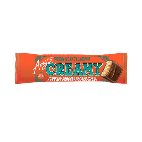 Amy's Kitchen Creamy Candy Bar, 1.5 Oz (Pack of 12)