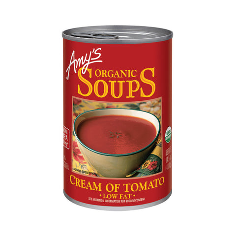 Amy's Kitchen Organic Cream of Tomato Soup, 14.5 Oz (Pack of 12)