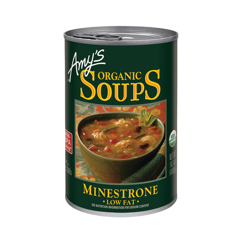 Amy's Kitchen Organic Minestrone Soup, 14.1 Oz (Pack of 12)