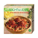 Amy's Kitchen Light & Lean Spaghetti Italiano Bowl, 8 Oz (Pack of 12)