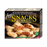 Amy's Kitchen Bean & Cheese Burrito Snacks, 6 Oz (Pack of 12)
