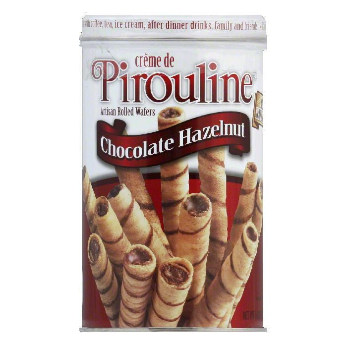 Debeukelaer Pirouline Hazlenut Cream, 14 OZ (Pack of 6)