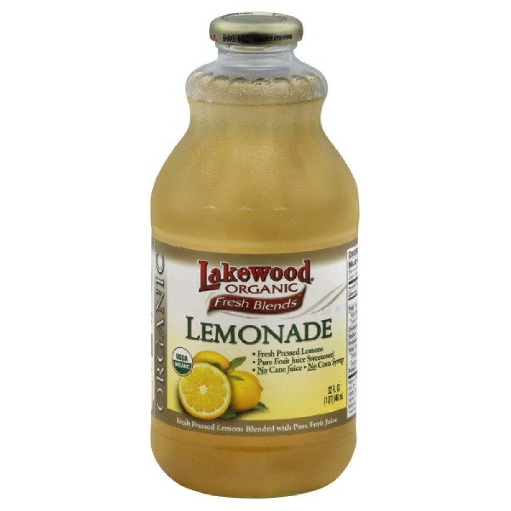 Lakewood Lemonade, 32 Fo (Pack of 6)