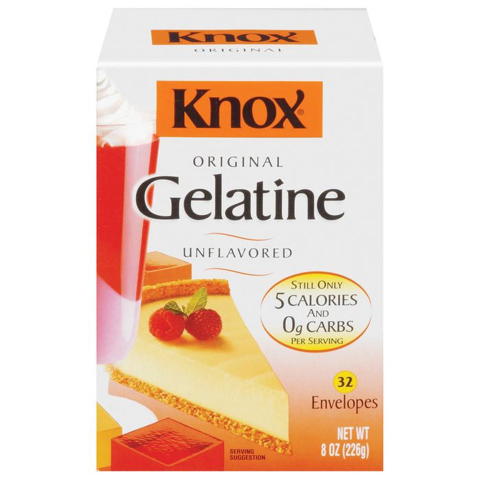 Knox Original Gelatine Unflavored Knox 8 Oz  (Pack of 12)