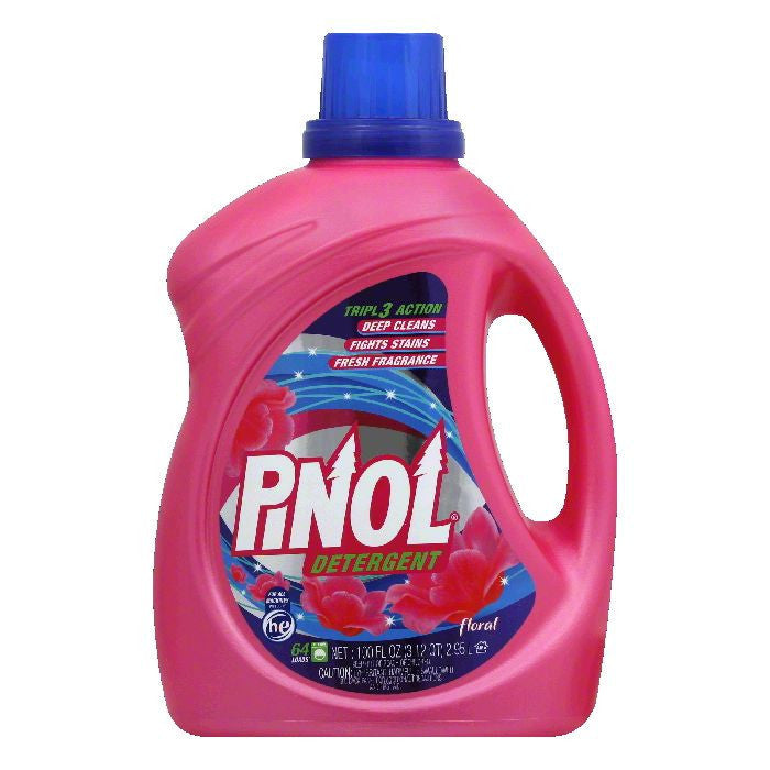 Pinol Floral Detergent, 100 Oz (Pack of 4)