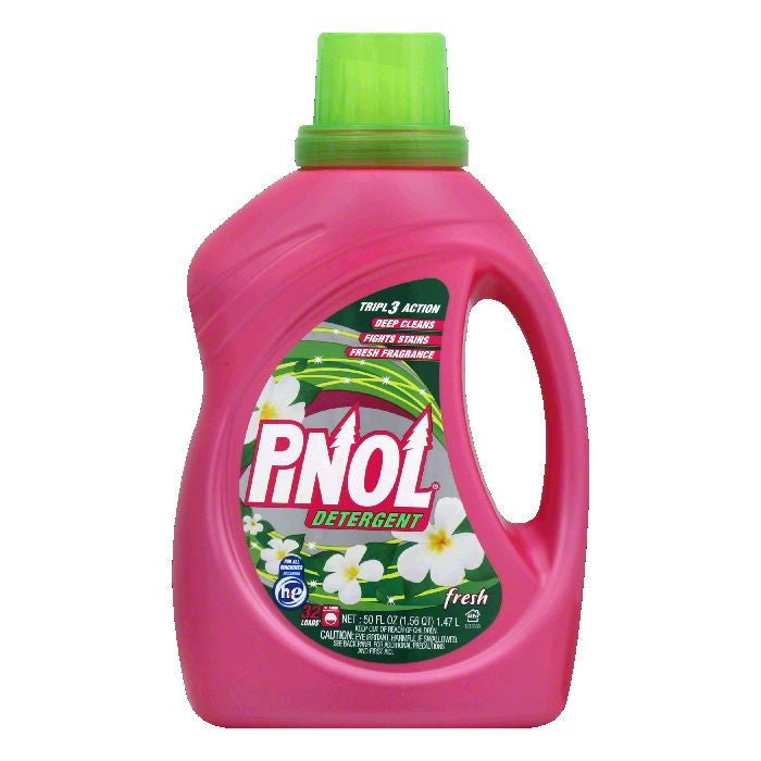 Pinol Fresh Detergent, 50 Oz (Pack of 6)