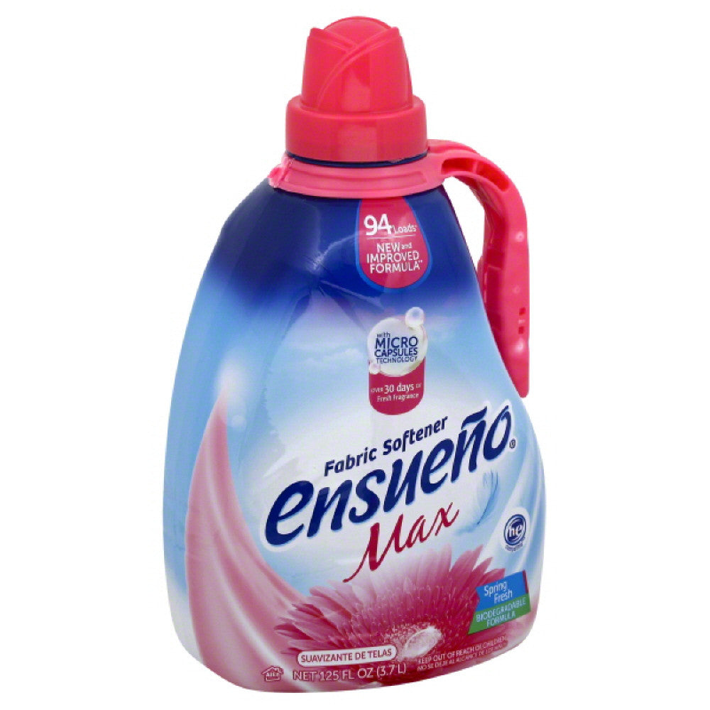 Ensueno Max Spring Fresh Fabric Softener, 125 Oz (Pack of 4)