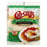 Chi Chis Taco Style White Corn Tortillas, 10 ea (Pack of 12)