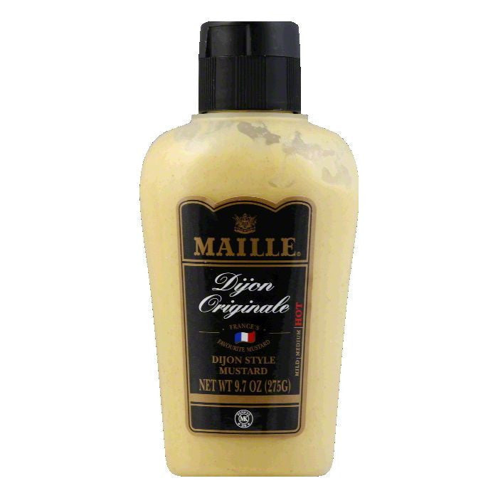 Maille Original Dijon Mustard Squeeze Bottle, 9.7 OZ (Pack of 12)