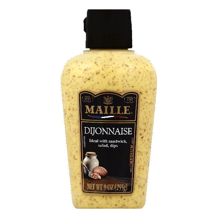 Maille Medium Dijonnaise, 9 OZ (Pack of 6)