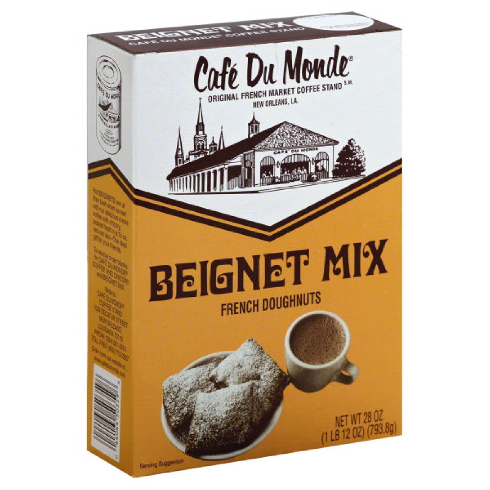 Cafe Du Monde Beignet Mix, 28 Oz (Pack of 12)