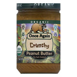 Once Again No Salt Added Crunchy Peanut Butter, 16 Oz