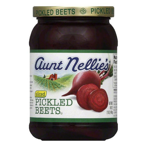 Aunt Nellies Sliced Pickled Beets, 16 OZ (Pack of 12)