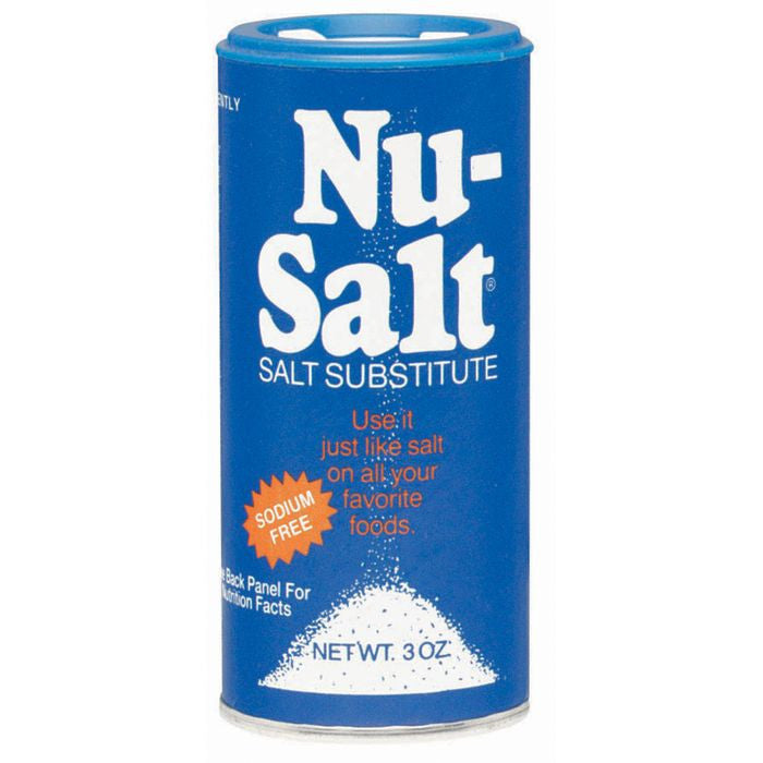 Nu-Salt  Salt Substitute 3 Oz  (Pack of 12)