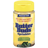 Butter Buds All Natural Sprinkles Butter Flavor Granules 2.5 Oz Shaker (Pack of 12)