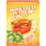 Monk Fruit In The Raw 100% Natural Zero Calorie Sweetener 1.12 Oz  (Pack of 8)