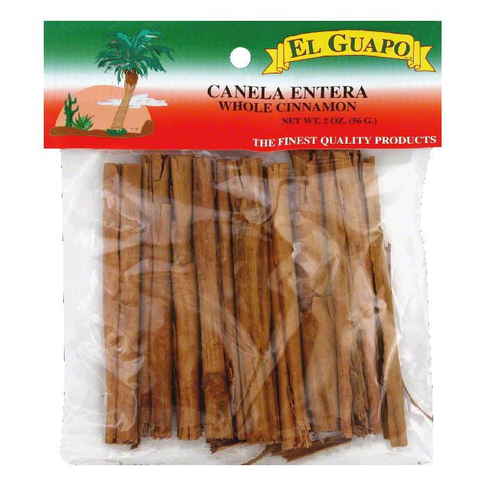 El Guapo Whole Cinnamon, 2 Oz (Pack of 24)