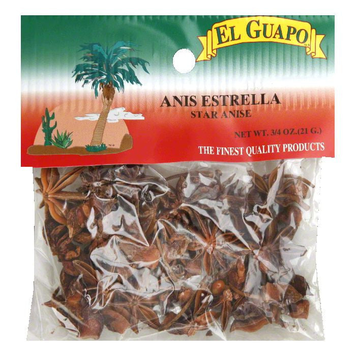 El Guapo Star Anise, 0.75 Oz (Pack of 12)