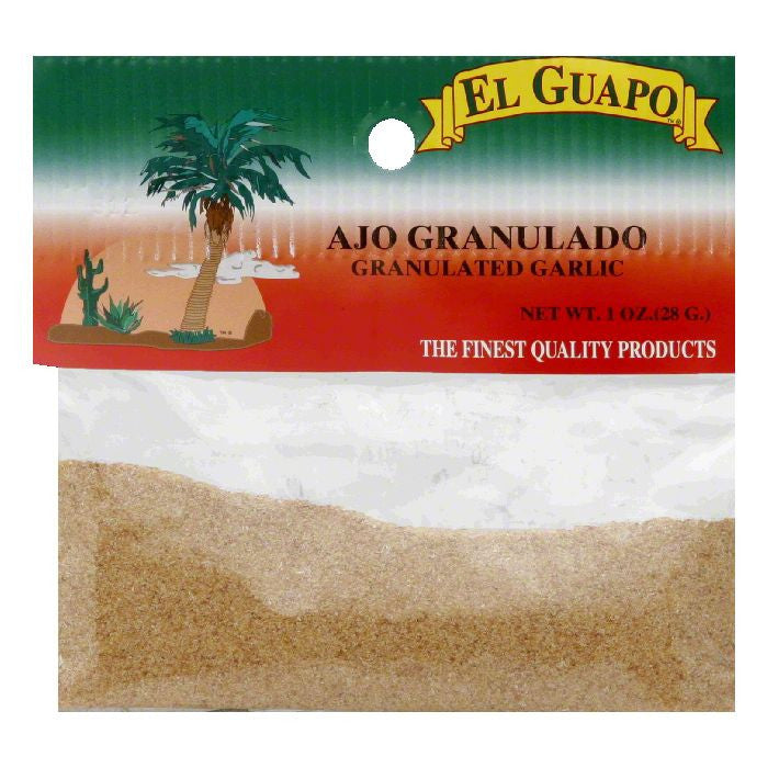 El Guapo Granulated Garlic, 1 Oz (Pack of 12)