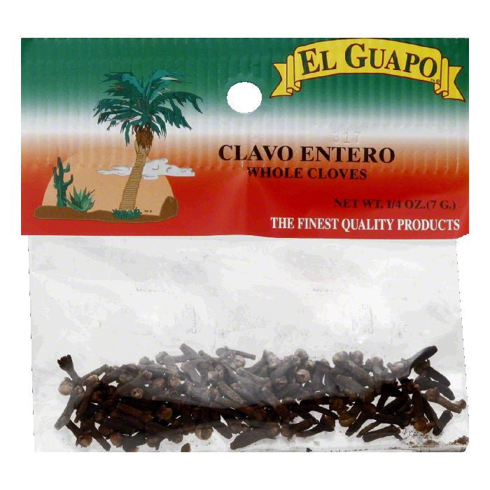 El Guapo Whole Cloves, 0.25 Oz (Pack of 12)