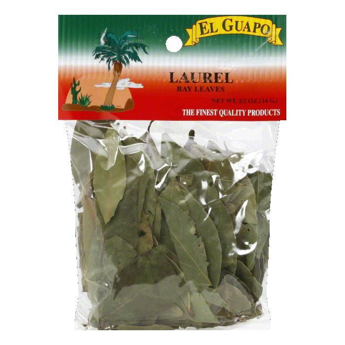 El Guapo Laurel Bay Leaves, 0.5 Oz (Pack of 12)