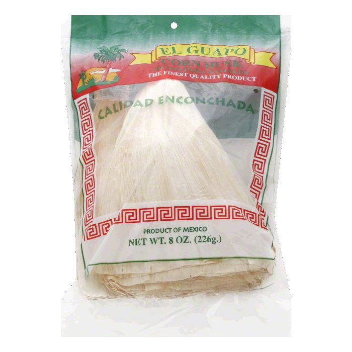 El Guapo Corn Husk, 8 Oz (Pack of 12)