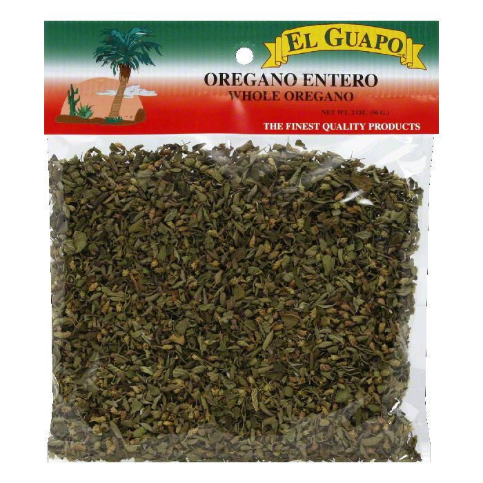 El Guapo Whole Oregano, 2 Oz (Pack of 12)