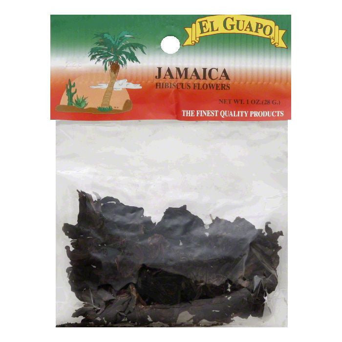 El Guapo Jamaica Hibiscus Flowers, 6 Oz (Pack of 12)