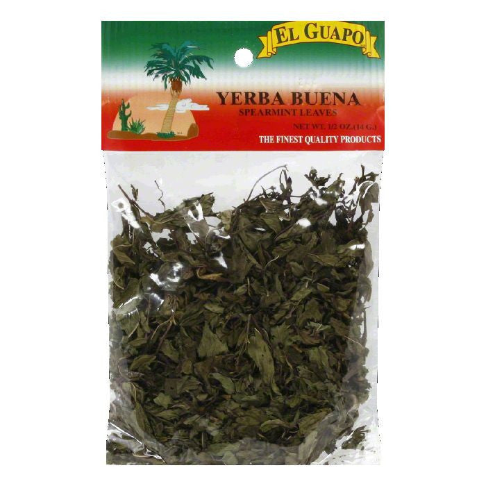 El Guapo Spearmint Leaves, 0.5 Oz (Pack of 12)