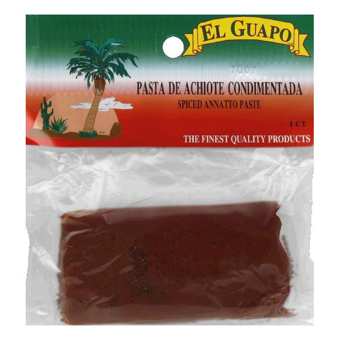 El Guapo Spiced Annatto Paste, 3.5 Oz (Pack of 12)