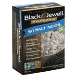 Black Jewell No Oil No Salt Microwave Popcorn, 8.7 Oz (Pack of 6)