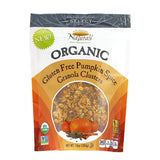 New England Naturals Organic High Protein Ginger Granola Clusters, 10 OZ (Pack of 6)