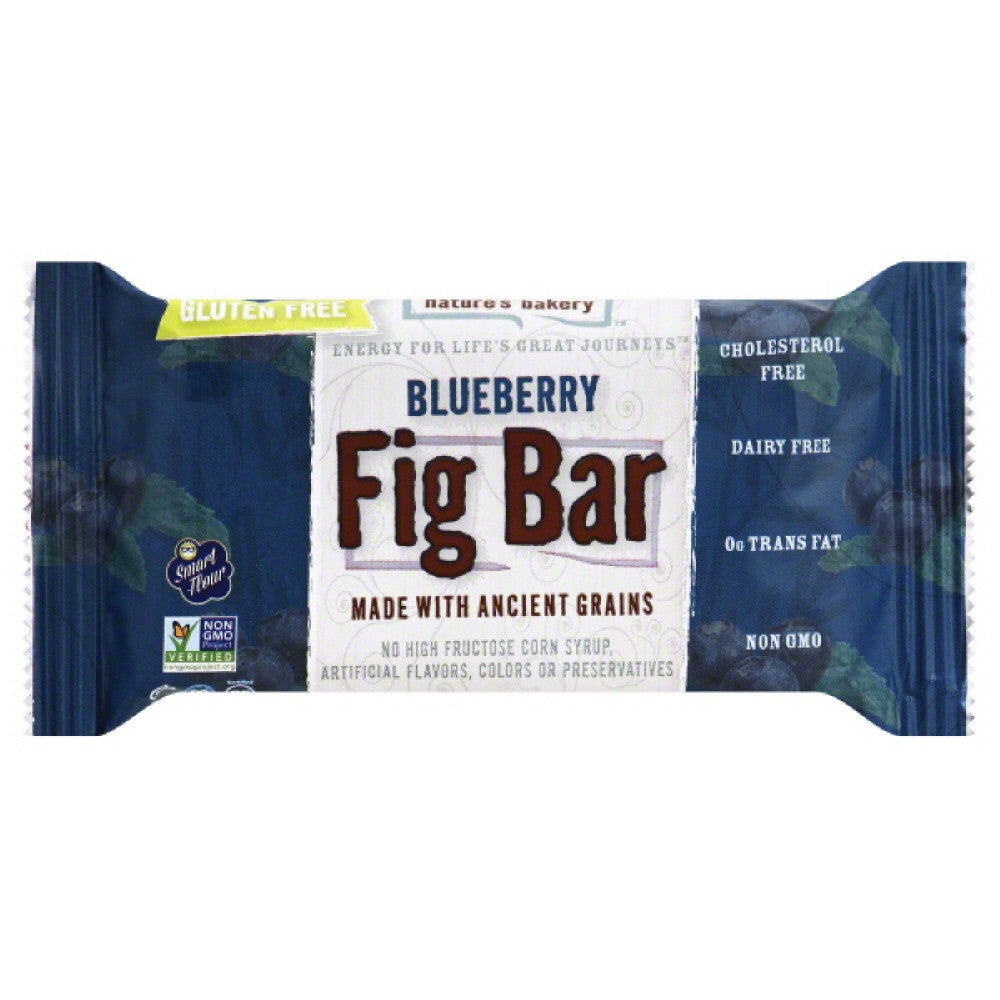 Natures Bakery Blueberry Fig Bar, 2 Oz (Pack of 12)