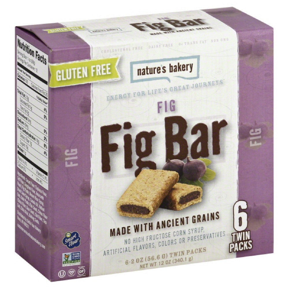 Natures Bakery Fig Fig Bar, 12 Oz (Pack of 12)