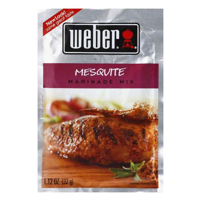 Weber Grill Marinade Mesquite, 1.12 OZ (Pack of 12)