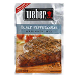 Weber Grill Marinade Black Peppercorn, 1.12 OZ (Pack of 12)