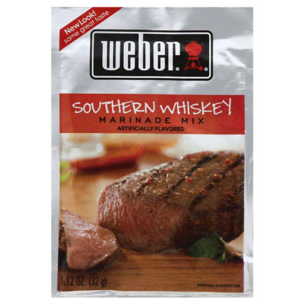 Weber Southern Whiskey Marinade Mix, 1.12 Oz (Pack of 12)