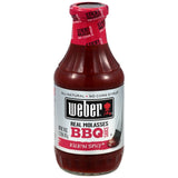Weber Real Molasses BBQ Sauce Kick'n Spicy 18 Oz   (Pack of 6)