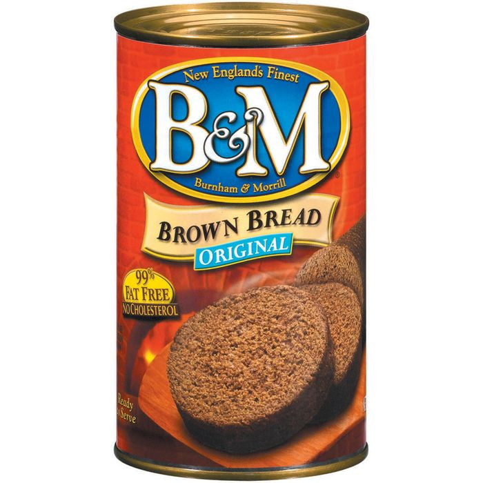 B&M Original Brown Bread 16 Oz  (Pack of 12)
