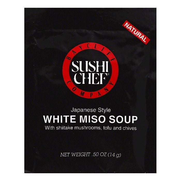 Sushi Chef White Miso Soup, 0.5 OZ (Pack of 12)