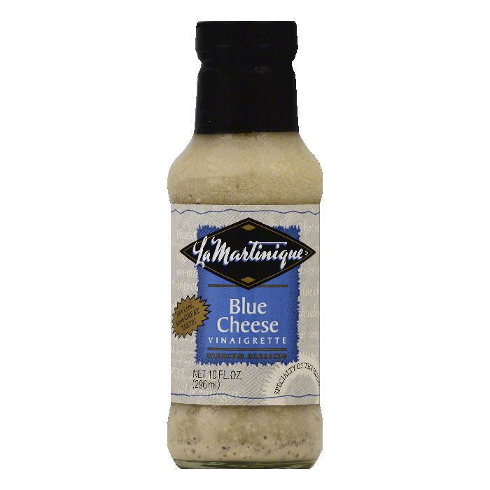 La Martinique Blue Cheese Vinaigrette Premium Dressing, 10 OZ (Pack of 6)