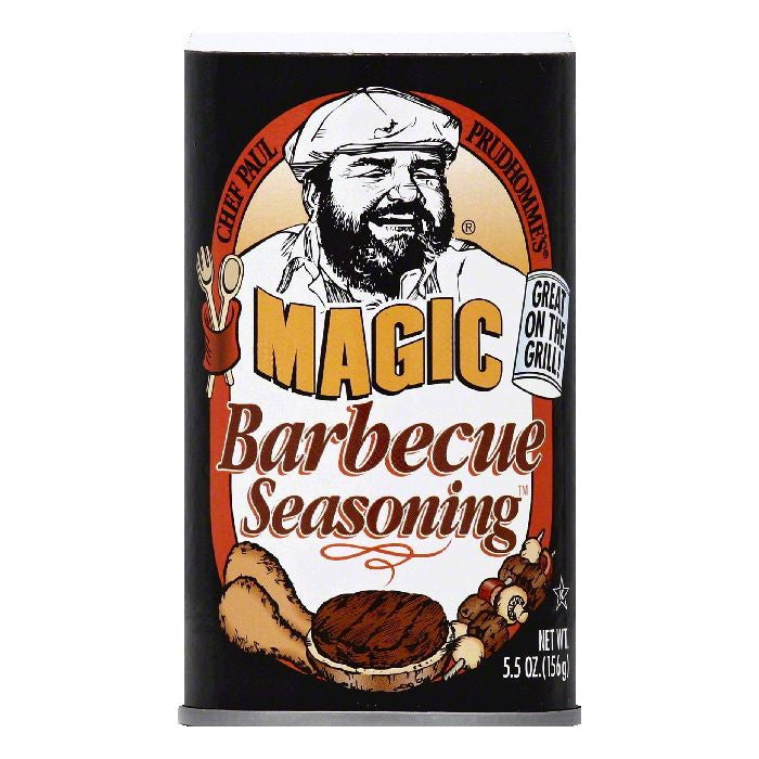 Chef Paul Prudhommes Barbecue Seasoning, 5.5 OZ (Pack of 6)
